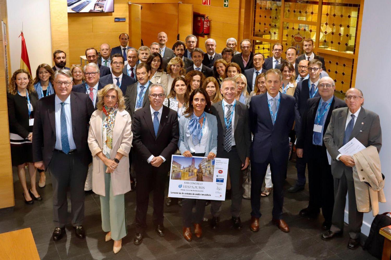 Los socios de Hispajuris concluyen su estancia en Oviedo, en el XXIII Congreso de la firma