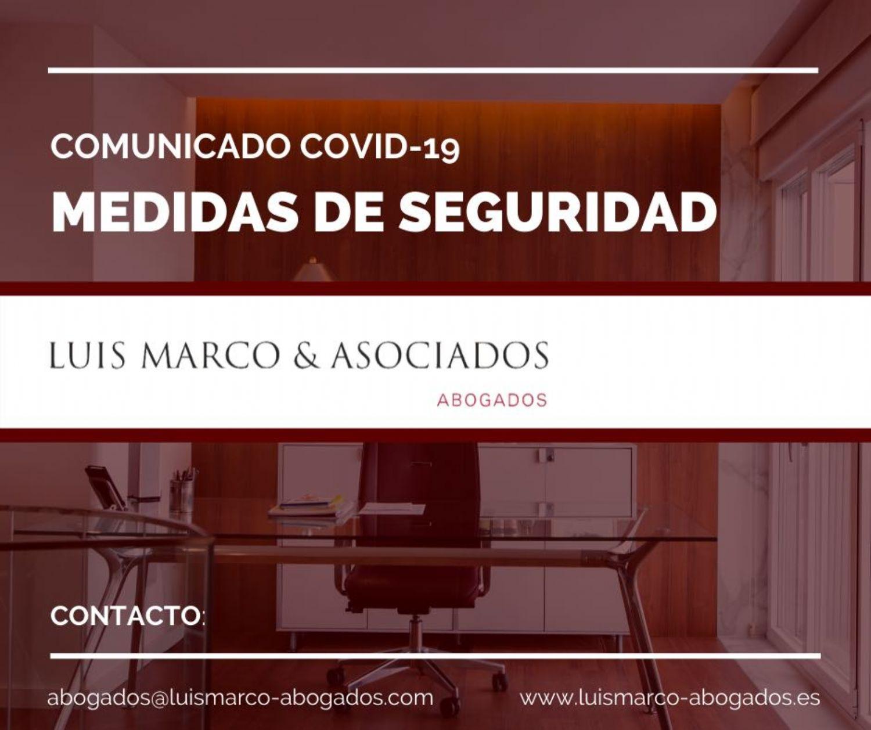 COMUNICADO - Medidas de prevención COVID-19