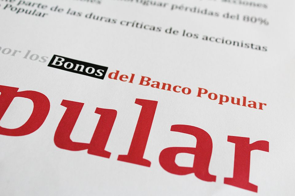 LOS BONOS CONVERTIBLES DEL BANCO POPULAR